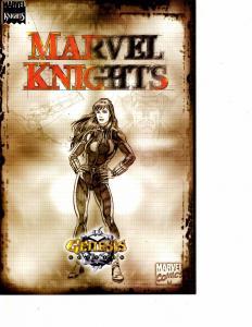 Lot Of 2 DC Comics Hawkman #11 and Marvel Knights Genesis Edition JB4
