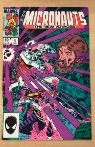 Micronauts: The New Voyages #4 (1985)