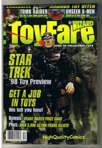 TOYFARE Magazine #4, NM, Star Trek, Borg, Tomb Raider, Sealed, 1997