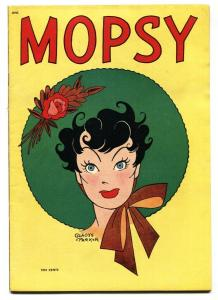Mopsy Comics #5 1949- RARE good girl art comic- SPICY VF