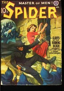 SPIDER-APR 1941-DESOTO ART-SO SPECIAL! VG/FN