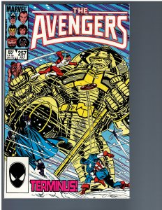 Avengers #257 (1985) - Key 1st Nebula
