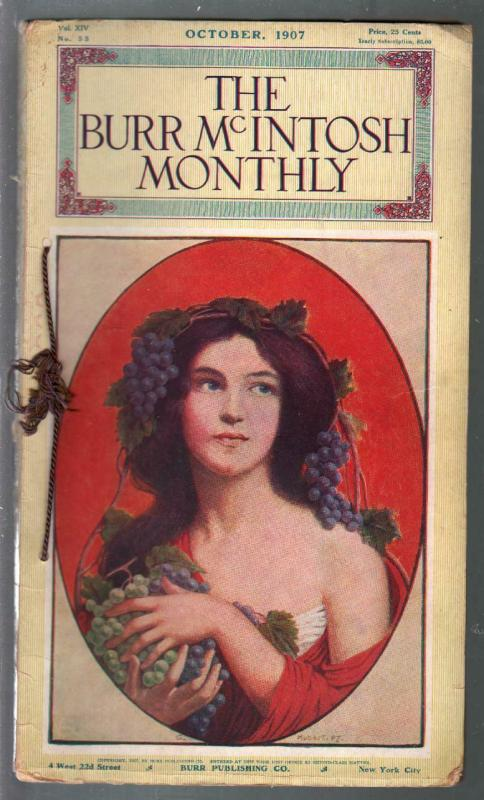 Burr McIntosh Monthly 10/1907-Mlle. Dazie-Teddy Roosevelt-Edison-VG