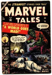 Marvel Tales #118 1953-Atlas-Pre-code horror-wild hypo needle cover-VG