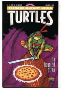 Teenage Mutant Ninja Turtles Special Haunted Pizza 1992 HTF comic book