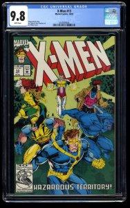 X-Men (1991) #13 CGC NM/M 9.8 White Pages