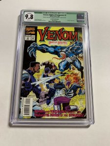 Venom Nights Of Vengeance 2 Cgc 9.8 Manufacturing Error 1 Of A Kind Marvel