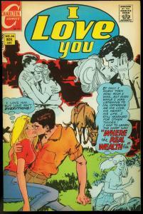 I LOVE YOU #88 1970-CHARLTON COMICS-HORSE FN