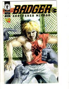 Lot Of 6 Badger Dark Horse Comics # 1 2 3 4 Shattered Mirror + # 1 2 ZenPop CR27