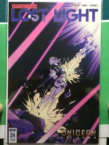 Transformers: Lost Light #24 Unicron is here!
