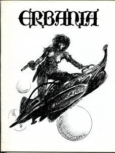 Erbania #58 1988 -Edgar Rice Burroughs-Tarzan-Cawthorn-Tom  Yeates-info-pix- VG