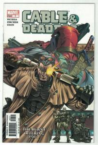 CABLE & DEADPOOL 7 FINE Mutant anti heroes  May 2004
