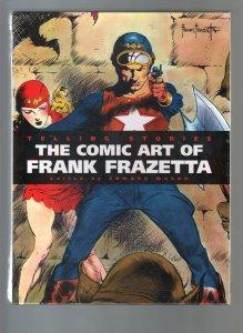 Telling Stories: The Comic Art Of Frank Frazetta-Hardback