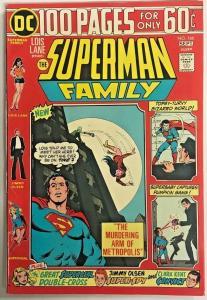 SUPERMAN FAMILY#166 VF 1974 DC BRONZE AGE COMICS