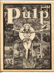 American Comic Book Co. Pulp Price List #11 1978