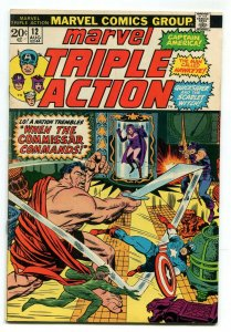 Marvel Triple Action 12 FN 6.0 Avengers Marvel 1973 Uncertified FREE SHIP