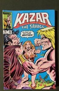 Ka-Zar the Savage #32 (1984)