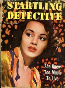 STARTLING DETECTIVE-NOV 1950-SPICY-MURDER-KIDNAP-NUDE-p/fr P/FR