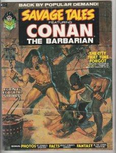 Savage Tales #2 (Oct-73) FN/VF Mid-High-Grade Conan the Barbarian