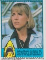 1983 Topps JAWS 3-D THE FIRST ATTACK! #3