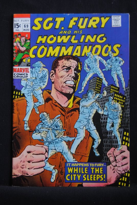 Sgt. Fury and his Howling Commandos, #69,