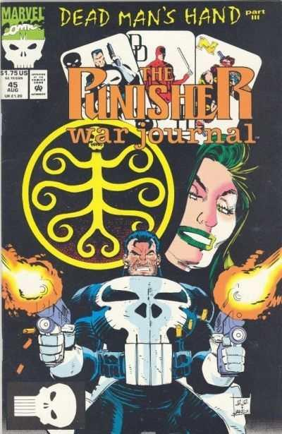 Punisher War Journal (1988 series) #45, NM- (Stock photo)