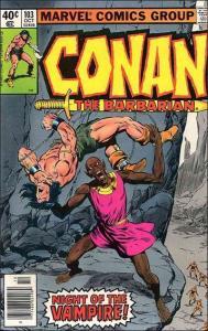 Marvel CONAN THE BARBARIAN (1970 Series) #103 VF