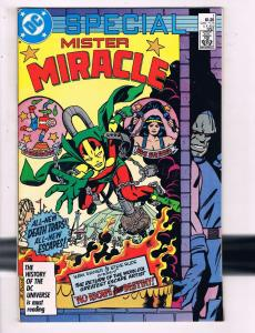 Mister Miracle Special #1 VF DC Comics Comic Book Darkseid 1987 DE13