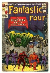 Fantastic Four 39   early Daredevil crossover   Doctor Doom