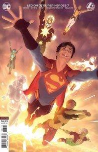 LEGION OF SUPER HEROES #7 CARD STOCK ALEX GARNER VARIANT PRESALE 7/28/20 DC 2020