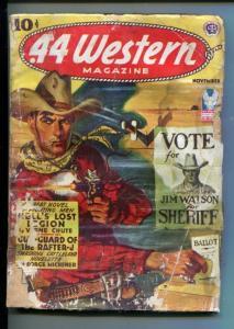 .44 WESTERN-11/1942-WESTERN PULP THRILLS- VERNE CHUTE-MICHENER-pr