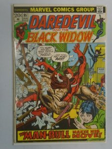 Daredevil #95 2.0 GD detached cover (1973 1st Series)