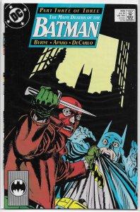 Batman   vol. 1   #435 VF (Many Deaths of the Batman 3) Byrne/Aparo