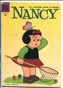 NANCY  #158-1958-DELL-ERNIE BUSHMILLER-vg