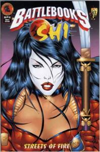 Shi: Streets of Fire Battlebook #1 FN; Crusade | save on shipping - details insi