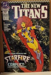 The New Titans Annual #6 (1990)