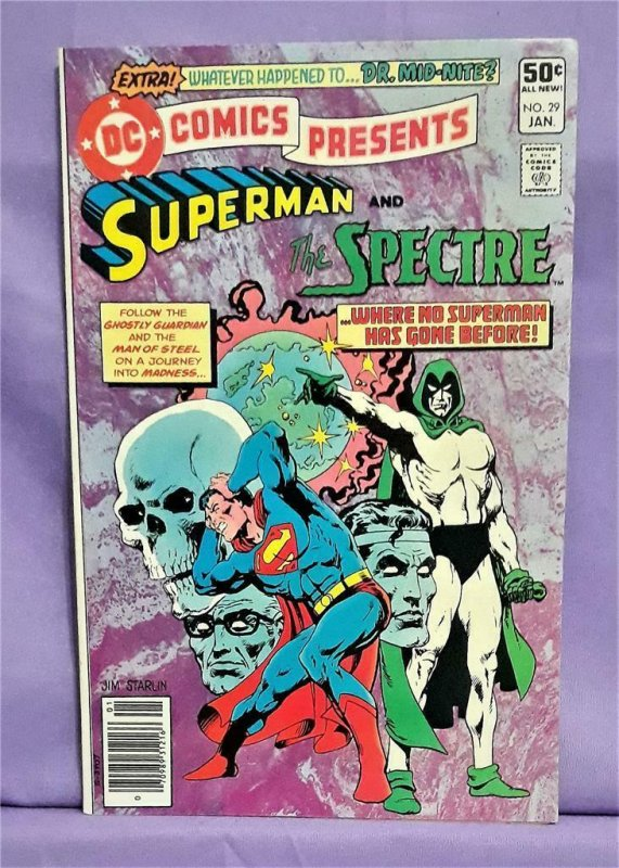 Len Wein DC Comics Presents #29 SUPERMAN SPECTRE Jim Starlin (DC, 1981)!