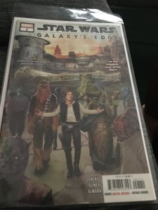 Marvel Star Wars Galaxy's Edge #1 Mint Hot