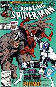Amazing Spider-Man #344 (ungraded) stock photo