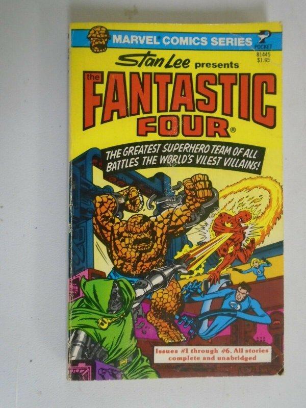 Fantastic Four PB #1 4.0 VG (1977 1st Printing Pocket Books)