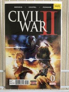 Civil War II #0 VF/NM 9.0 FREE COMBINED SHIPPING