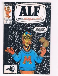 Alf #10 VG Marvel Bronze Age Comic Book DE5