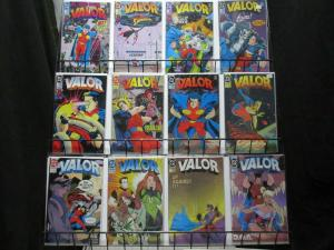 VALOR (1992) 1-23  the COMPLETE Series!