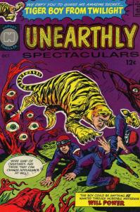 Unearthly Spectaculars #1 VG; Harvey | low grade comic - save on shipping - deta
