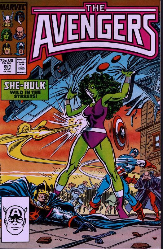 Avengers #281 - NM - 1987