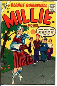 Millie The Model  #80 1957-Atlas-Dan DeCarlo-Chili-paper dolls-fashion-VG