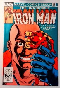 Iron Man #167 Marvel 1983 VF/NM Bronze Age Comic Book 1st Print