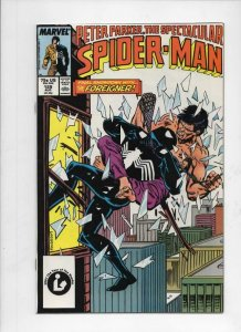 Peter Parker SPECTACULAR SPIDER-MAN #129 FN/VF Foreigner 1976 1987 more in store