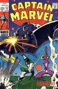 Captain Marvel #11 (ungraded) stock photo / SMC