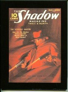Shadow Pulp Reprint 2006-Voodoo Master-Maxwell Grant-5/1/1936 publish date-NM